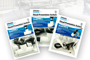 Flood Prevention Switches for HVAC/R applications