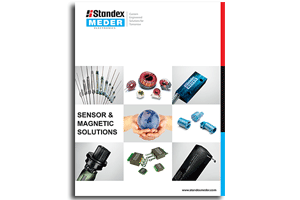 "New Product Catalog ""Sensor & Magnetic Solutions"" is available"